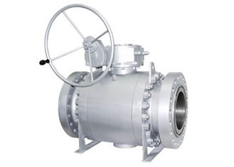 Side Entry Trunnion Ball Valve , Anti Static Two Piece Ball Valve For Industrial
