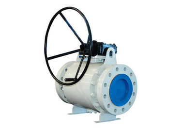 China Casting Trunnion Mounted Ball Valve CLASS 150-300 With Silicone Free supplier