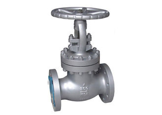 China Electric Cast Globe Valve / Stainless Steel Globe Valve Customized Size supplier