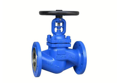 China Professional Steam Bellow Stop Globe Control Valve WJ41H-16P ASME B16.10 supplier
