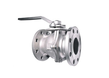 China Reduced Bore / Full Bore Floating Ball Valve With Stainless Steel Material supplier