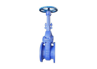 DIN Standard Cast Steel Gate Valve , Bellow Seal Globe Valve Long Cycle Life
