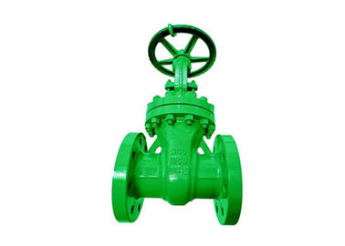 Rising Stem Flanged Bolted Bonnet Gate Valve API 6D 600 With Cast Steel A216 Wcb Body