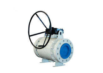 China Durable Casting Trunnion Mounted Ball Valves For Oil And Gas Industrial supplier