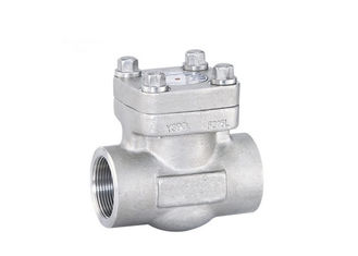 China API 602 Lift Type Check Valve , Forged Steel Check Valve High Rigid supplier