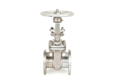 Wcb API600 Class 600lb Cast Steel Gate Valve , Manual Actuator 4 Inch Gate Valve