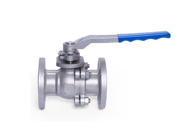 ANSI Industrial Flanged Ball Valve Split Body Stainless Steel Floating Class 150