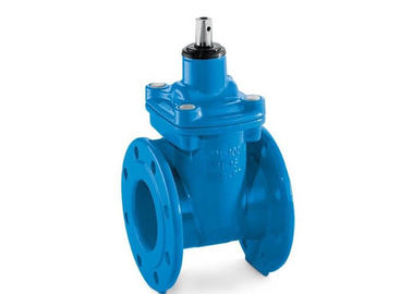 Ductile Iron Cast Gate Valve / Manual Resilient Seated Gate Valve