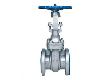 API 6D Flange End Oil Gate Valve Rising Stem For Industrial Control