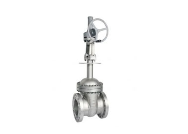 API 600 Cryogenic Bolted Bonnet Cast Steel Gate Valve , Extended Stem Gate Valve