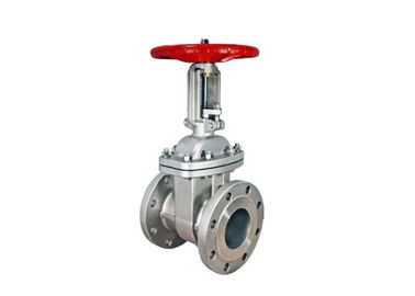 Industrial Resilient Seated Gate Valve Hand Operated Good Anti - Scratch Performance