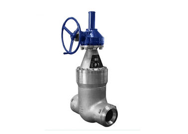 Gear Operated Pressure Seal Gate Valve Class 1500-2500 For Power Station