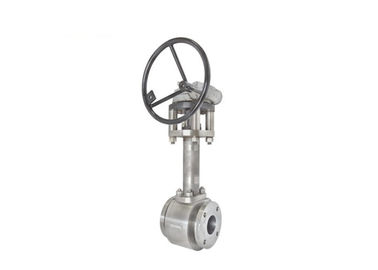 Cryogenic Floating Type Ball Valve Manual Operation For Water / Gas Media