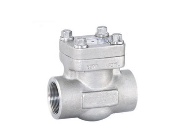 API 602 Lift Type Check Valve , Forged Steel Check Valve High Rigid