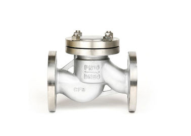 Flange End Lift Type Check Valve , Stainless Steel Non Return Valve