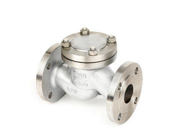 H41 Wcb / CF8 / CF8m Horizontal Lift Check Valve High Temperature Resistant