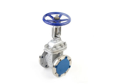 Stainless Steel Wedge Gate Valve Flanged With Straight - Through Type