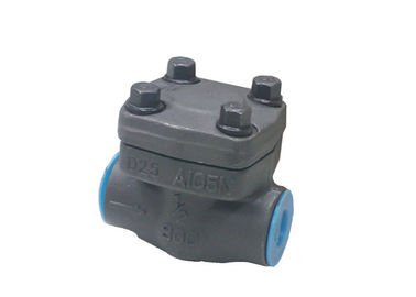 API Standard Lift Type Check Valve , Swing Structure Cryogenic Check Valve